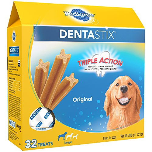 Pedigree Dentastix dental chew dog treats are they safe good effective