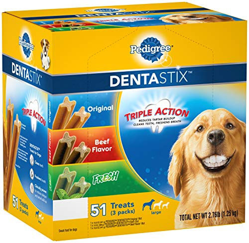 Which dog treat has the best value for the price dentastix or greenies