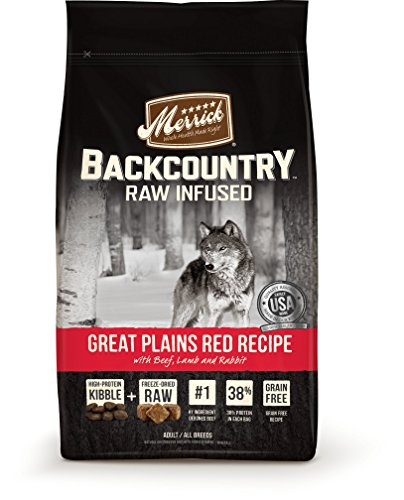 MMerrick backcountry raw infused good tasting dog food for picky eaters