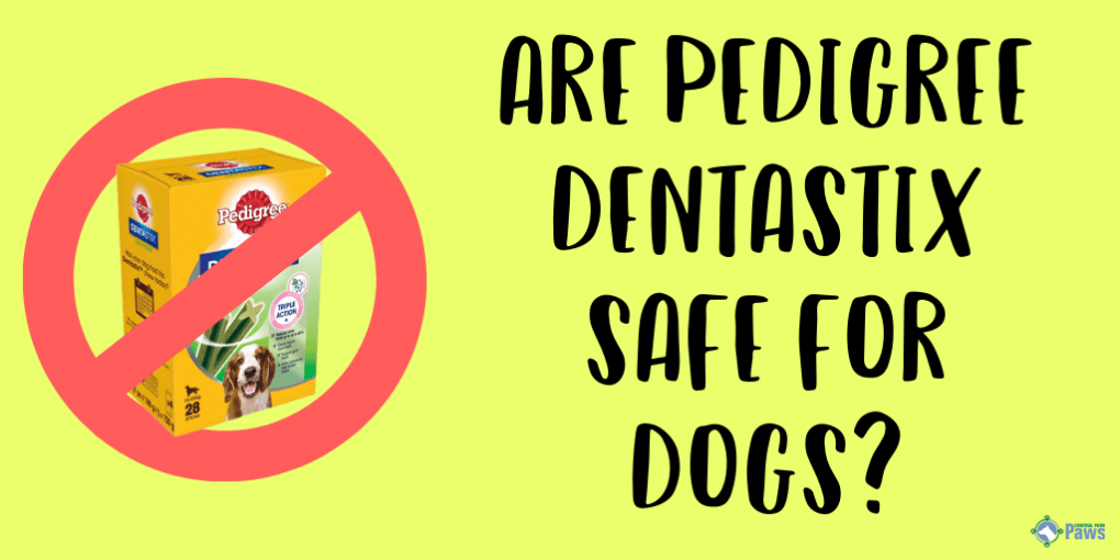 Are Pedigree Dentastix Treats Safe for Dogs