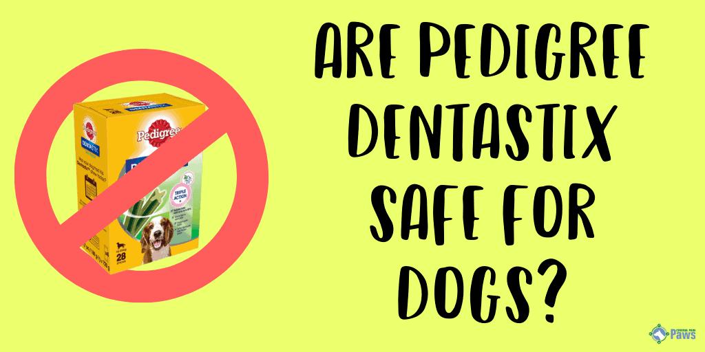 Are Pedigree Dentastix Treats Safe for Dogs