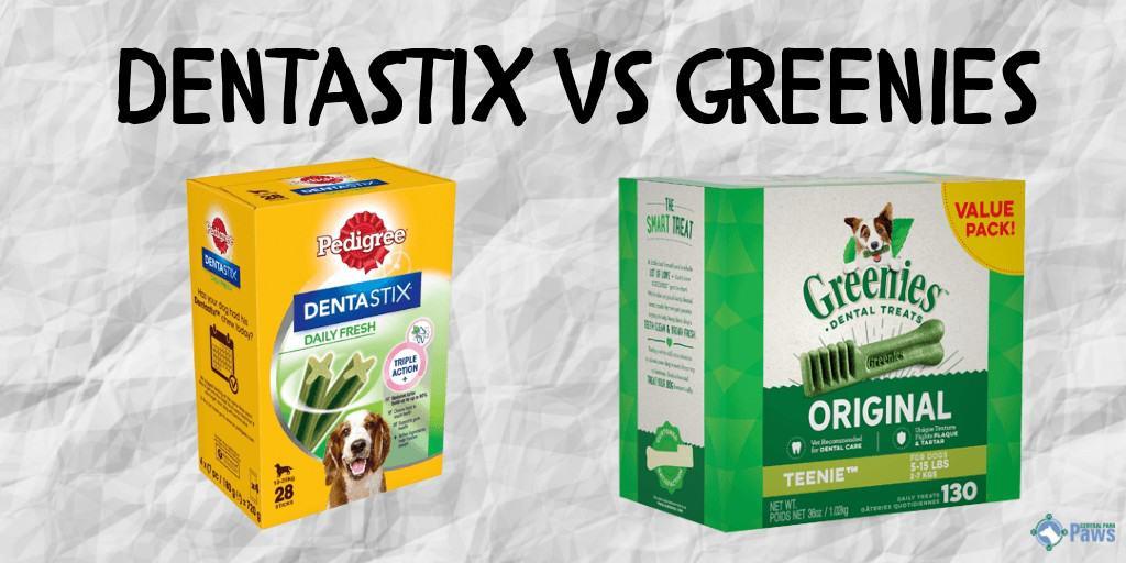 Pedigree Dentastix vs Greenies Dental Treats