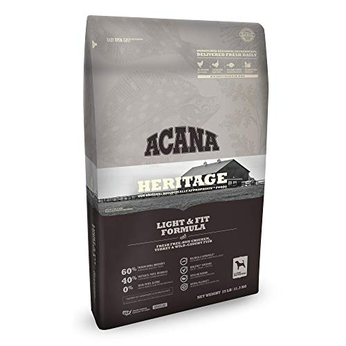 Overall best dry dog food Acana heritage regionals best choice
