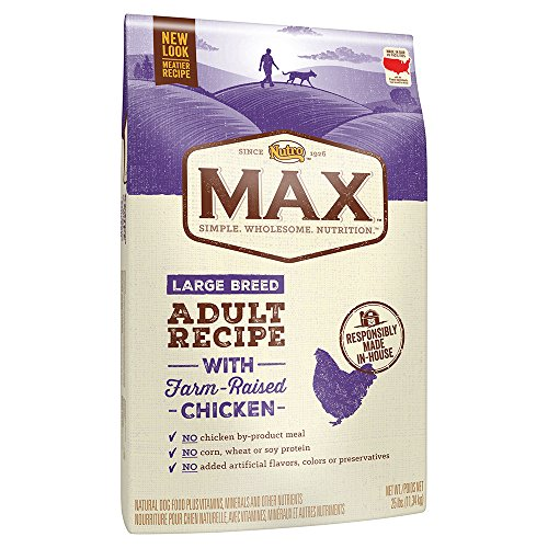Nutro max wholesome nutrition product food lines varieties dry dog food