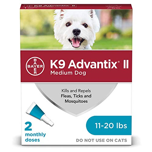 K9 Advantix II flea tick mosquito repellent bathe before after medication is given