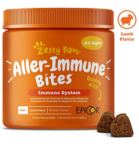 Zesty Paws allergy immune system bites histamine response itchiness