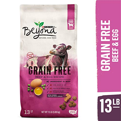 Purina Beyond grain free beef egg adult dog food recipe not for puppies