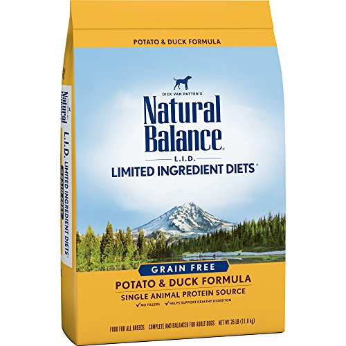 Natural balance limited ingredient diet dog food recommendations potato duck protein