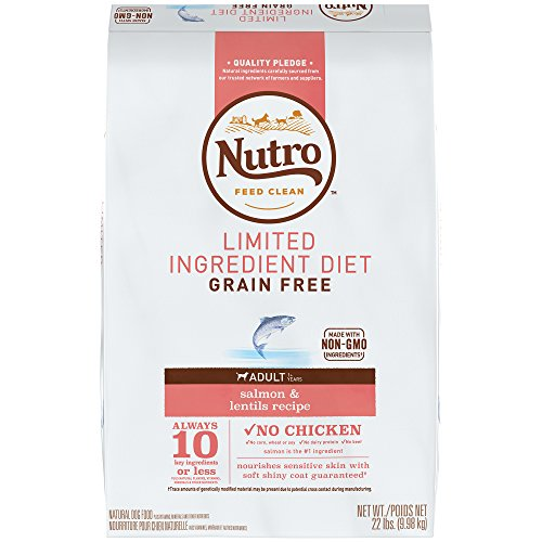 Nutro feed clean limited ingredient diet grain free dog food for adults without chicken