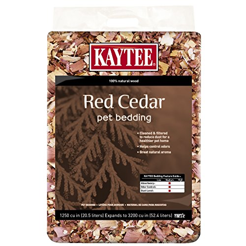 Kaytee red cedar pet bedding resist odor bugs insects natural wood