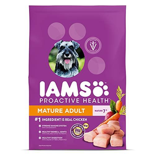 Veterinarian recommended dog food IAMS Purina proactive health mature adult