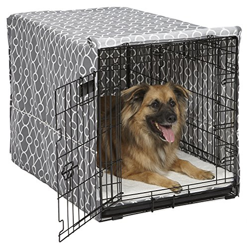 how long dog spend in crate is too much all day while working does age matter