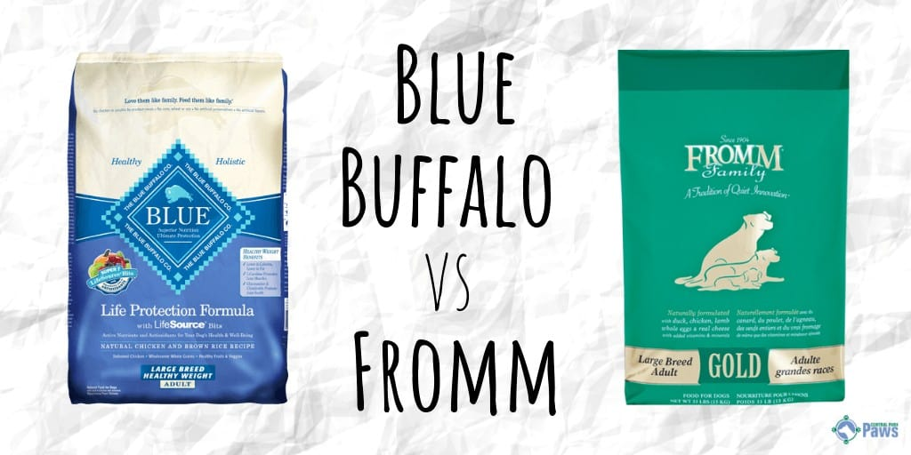 Blue Buffalo vs Fromm Dry Dog Food Review