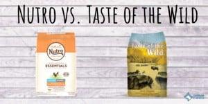 Nutro vs Taste of the Wild Dog Food Review