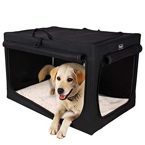 Best heavy duty soft sided dog crate kennel carrier for small medium large dogs
