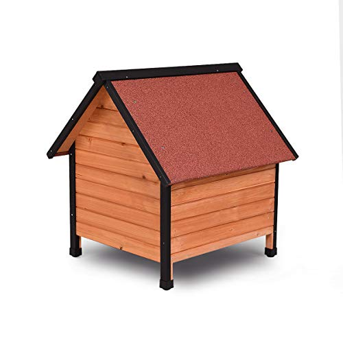 Natural environmentally friendly ecological dog house for hippie pets save the Earth