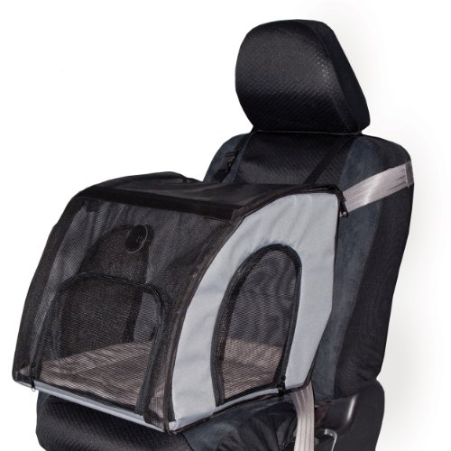 Best travel soft crate carrier pet products mesh windows two doors