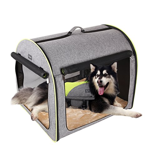 do soft dog crates have good ventilation yes pick right kennel