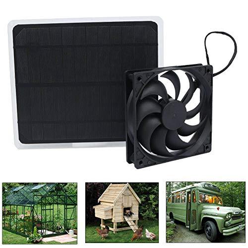 Best dog house fan solar cell powered fan cool dog house summer breeze