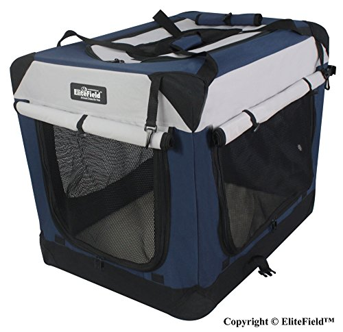 upgrade better pick choice soft dog kennel EliteField outdoor travel crate