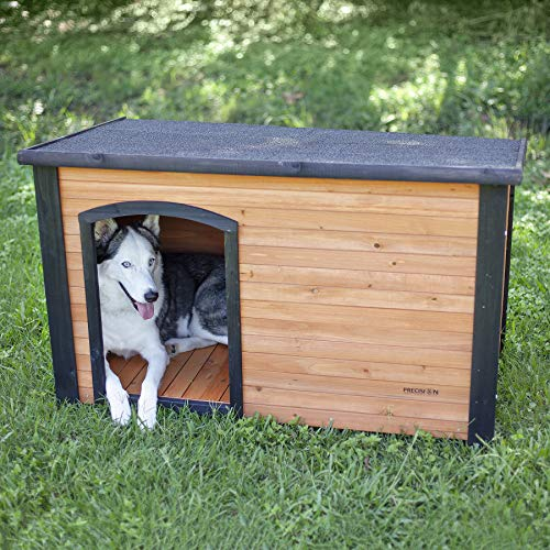Is metal a good choice for dog house no absorbs heat cooks dog freezes pup in cold temperatures