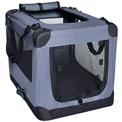 Arf Pets soft kennel best choice for medium dogs rigid frame carry handles