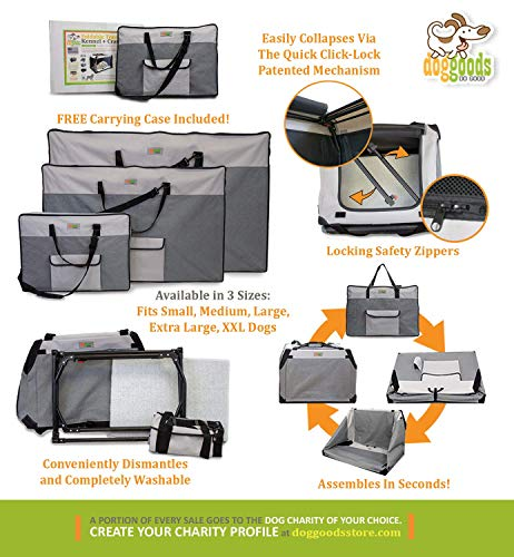 How to choose soft sided dog kennel for big breed dogs easy assembly