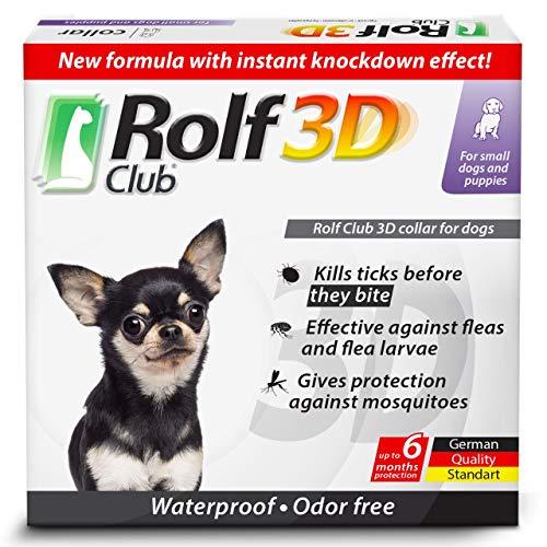 Rolf Club 3D small dog puppy dog collar German formula