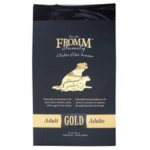 Fromm Gold Adult dog food price availability comparison with Blue Buffalo