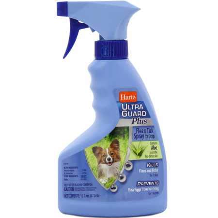 Hartz Ultra Guard Plus Flea Tick Spray for Dogs with Aloe best choice