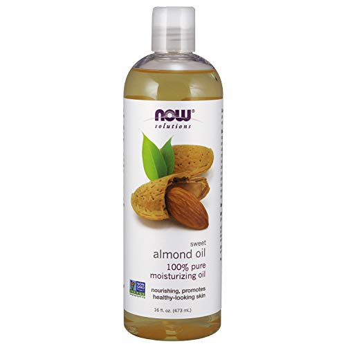 Now Solutions sweet almond carrier oil fractionated coconut dilute essential safety