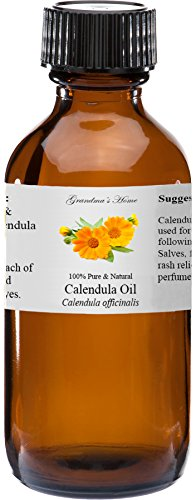 Calendula officinalis essential oil relieve hot spots promote healing