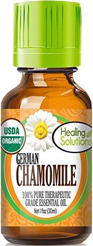 German chamomile healing solutions essential oil for arthritic dog pain