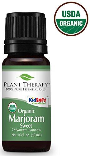 Sweet Marjoram Origanum majorana for pain anxiety hotspot irritation inflammation relief