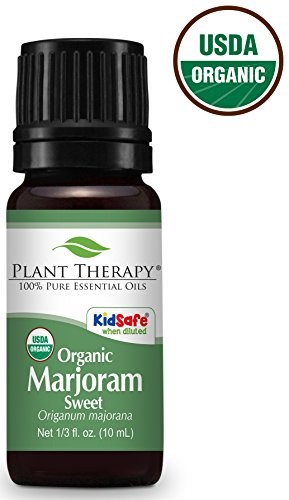 Plant therapy 100% pure sweet marjoram essential oil for stinky pets