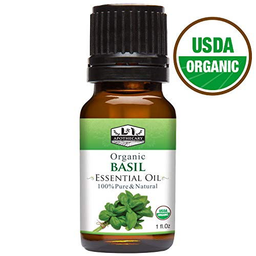 L and I apothecary organic basil essential oil safe effective for dogs canines