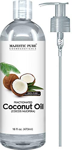 Fractionated coconut oil for dry skin inflammation and joint pain