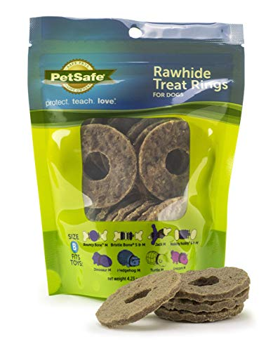 Rawhide types styles versions variety treat rings for dogs pet safe