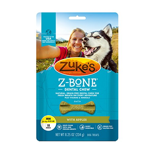 Zuke's Z-Bone dental chew toy alternative to rawhides