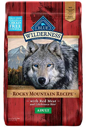 Blue Buffalo Wilderness rocky mountain recipe red meat grain free dog food