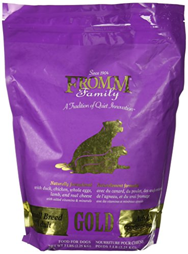 Fromm Family dog food small breed adult Gold comparison