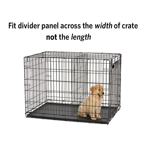 How to install crate divider inside dog kennel instructions directions