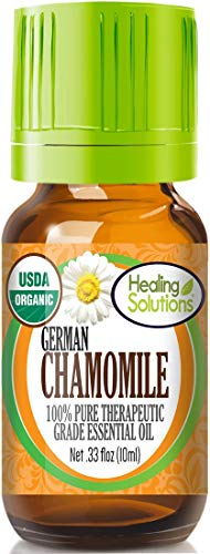 Helpful essential oils for dogs German chamomile anti inflammatory pain relief