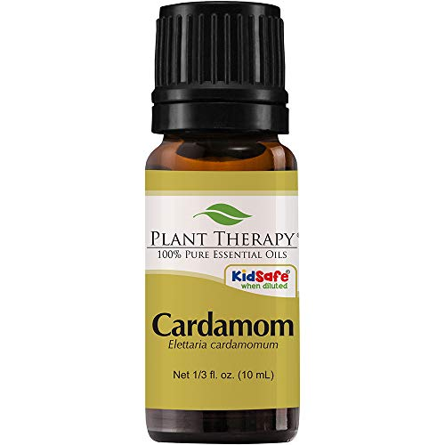 Cardamom essential oil for freshening yucky disgusting dog breath smell
