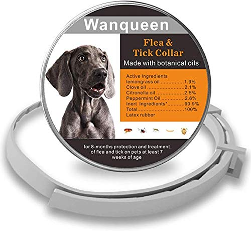 Wanqueen flea tick collar made with botanical essential oils natural protection