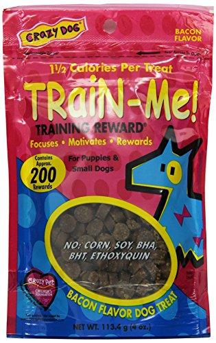 Use training treats teach puppy to walk on leash