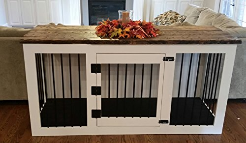 Southern Crafted Furniture Custom Indoor Kennel boutique dog crate