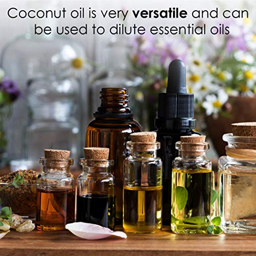 Coconut versatile carrier oil how to dilute soothe dry skin