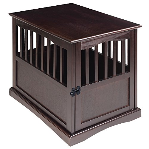 Casual Home Dog Crate End Table good looking budget choice