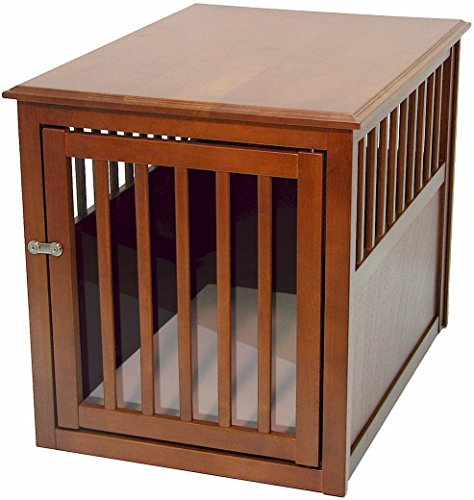 Crown Pet Products Wood End Table Dog Crate top pick review best